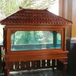 Aquarium Kayu Jati (Classic model)
